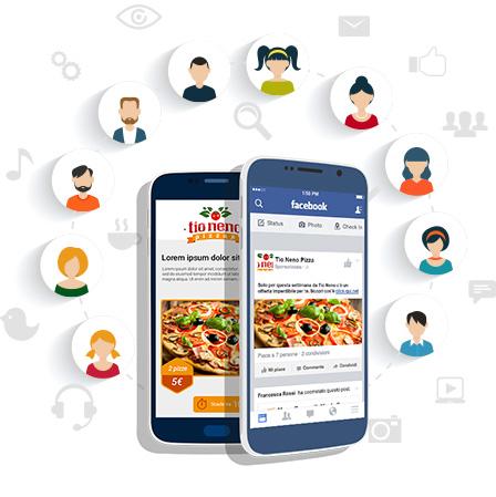 Crea DB contatti social